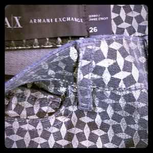 👠A/X ARMANI EXCHANGE Women's SKINNY Jeans